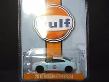 Greenlight Nissan GT-R R35 2015 Gulf Oil Greenlight Exclusive 1/64 51062