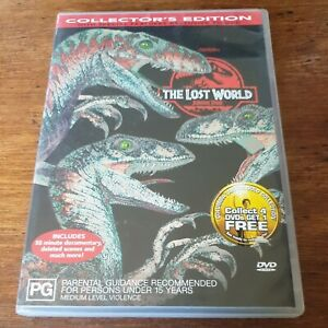 The Lost World Jurassic Park DVD R4 Like New! FREE POST