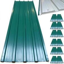 12  Metal Corrugated Roof Sheets Garage Shed Profiled Galvanized Roofing Panels