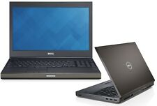 "Dell Precision M6800 i7 4800QM 2,7GHz 16GB 256GB SSD 17,3"" DVD-RW Win 10 Pro 192"