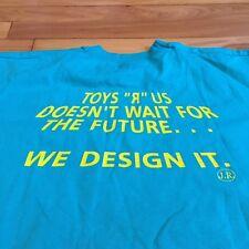 Vintage Toys R Us Concept 2000 Emoloyee Uniform Shirt 1999 Sz XL Toy Rare