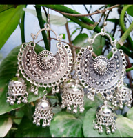 Indian Fashion Wedding Party Jhumki Earrings Jhumka Bollywood Elegant Women