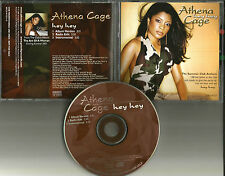 Kut Klose ATHENA CAGE Hey  w/ INSTRUMENTAL & RADIO EDIT PROMO RADIO DJ CD single