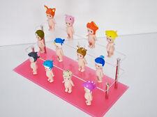2 tier acrylic stand+Pink Acrylic base