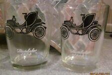 Set of 2 Antique Studebaker 14oz  Drinking Glasses