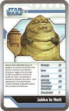 Star Wars - Top Trumps - The Clone Wars - JABBA LE HUTT