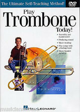 TROMBONE DVD Learn How To  Play Today Tutor Lesson  NEW