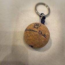 Bola de corcho Massimo Dutti logotipo KEYRING LLAVERO titular Flotador Bolso Encanto