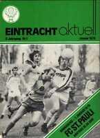 BL 77/78 Eintracht Braunschweig - FC St. Pauli, 07.01.1978 Karl-Heinz Handschuh