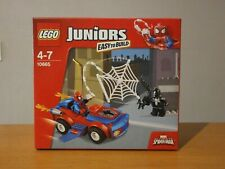 rare cette boîte lego juniors spiderman réf: 10665 non ouvert