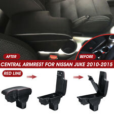 Central Armrest Console Storage Box Pad Cup Handrails With USB For Nissan  ^^ #