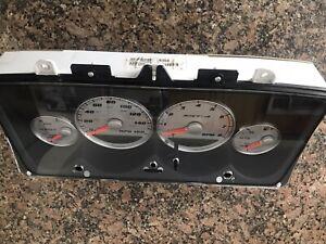 03-05 DODGE NEON SRT4 OEM INSTRUMENT GAUGE CLUSTER SPEEDOMETER