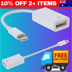 iOS 13 iPhone to USB OTG Adapter Cable for iPad Mouse Camera Keyboard iPhone