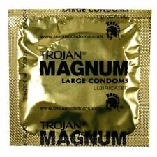 1000 Pack Trojan Magnum Premium Large Lubricated Latex Condoms Bulk Packaging