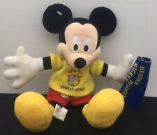 """11""""  Plush Mickey Mouse In """" I'm A Mouseke-doer """""""