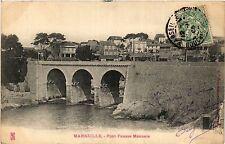 CPA MARSEILLE Pont Fausse Monnaie (404724)