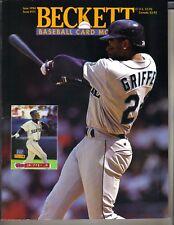 KEN GRIFFEY JR SEATTLE MARINERS Beckett Baseball Card Monthly 6/94