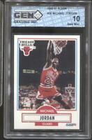 1990-91 Michael Jordan Fleer #26 Gem Mint 10 Chicago Bulls HOF