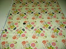 Michael Miller quilt-craft fabric FOLK candlelight 2 yds (dc-8677) Delight