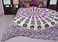 Indian Mandala Duvet Doona Cover Bohemian Queen Blanket Quilt Cover Bedding Set