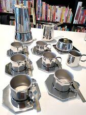 ZEPTER MASTERPIECE COLLECTION - LUXURIOUS STAINLESS STEEL EXPRESSO & CUP-SET