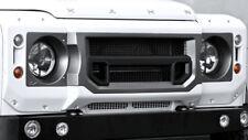 Land Rover Defender 90 110 Pare Choc Avant Calandre & Tête Lumière entoure-Noir