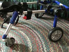 Walkin' Wheels quad support dog wheel chair, Medium; lightly used condition