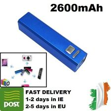 2600mAh Power Bank 3100 mAh External USB Battery Charger Portable blue colour