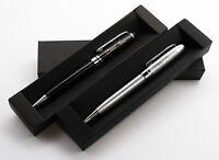 Personalized Executive Metal Ballpoint Pen + Gift Box | Custom Bespoke Engraved