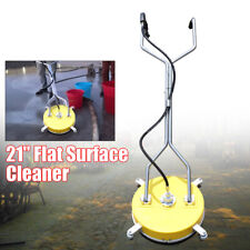 21flat Pressure Washer Surface Cleaner Attachment Wash Concrete Driveway 105gp