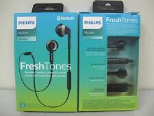 Philips-SHB5250BK-Wireless-Bluetooth-Earphones-Headphones-Headset-w-Mic-Black