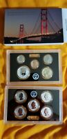 2018-S 50th anniversary San Francisco Reverse Silver Proof Set. COA, packaging.