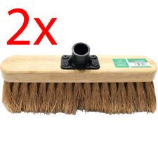 PVC Bristle Broom brush head hard OR Soft floor  4 home,takeaway shops Appr 27cm