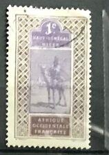 Upper Senegal & Niger #18 Used Camel Rider