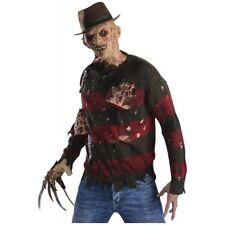 Freddy Sweater with Burns Costume Adult Nightmare on Elm Street Halloween
