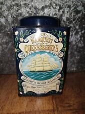 More details for marquess of queensberry's tea tin caddy blue clipper boxing afternoon tea scenes