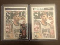 2020-21 NBA Hoops Jason Williams Purple Explosion Slam Magazine SSP Holo & Base