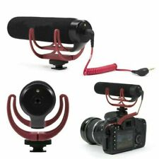3.5mm Rode Audio Videomic GO On Camera Rycote Lyre Mount Microphone For Canon