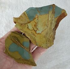 New listing (2) Sweet - Horse Canyon Picture Jasper Slabs 144 Gr. - 3253
