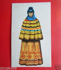 figurine costumi delle due americhe 29 indiana seminole cards cromos figurines v