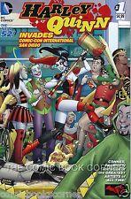 DC Comics 2014 New 52 HARLEY QUINN INVADESSAN DIEGO COMIC CON #1 Near Mint SDCC