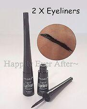 2 Black Waterproof Liquid Eyeliners - Nabi Waterproof Eyeliner * Get 2 & Save!