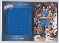 2016-17 Panini Day Game Worn Jersey Steven Adams Thunder #14