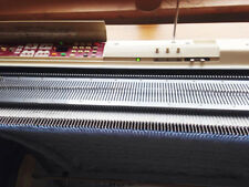 Brother KH 950i knitting machine and KR 850 ribbing attachment