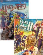 GANGS OF WASSEYPUR 1 & 2 - ORIGINAL BOLLYWOOD DVD [COMPLETE SERIES]