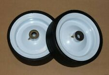 CASTER WHEELS FOR L59 KUBOTA MITSUBISHI MASSEY CASE JOHN DEERE WOODS MOWER DECKS