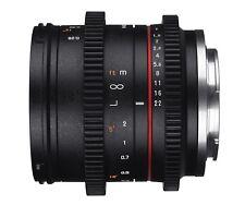 Samyang 21mm T1.5 VCSC VDSLR Cine Lens For Sony E Mount - New UK Stock