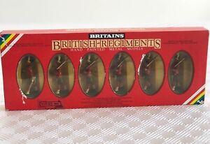 Britains British Regiments Gordon Highlanders hand painted metal models boxed