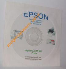 Epson 880 stylus color printer service program new