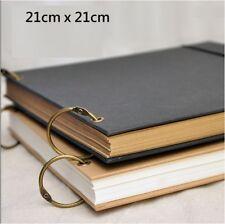 2Ring Hard Cover 100Pg DIY Scrapbook Sketchbook Book Wedding Anniversary Party